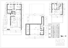 Moderný dom MOR Modern Family House, House Projects, Container, Floor Plans, Construction, House Design, House Styles, Pictures, Architecture