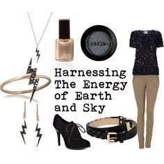 """""""District 5 - Power"""" by favourite-fictional-fashions on Polyvore; I like the color combination."""