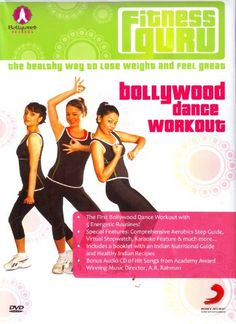 If you're bored of the same old workout and are looking for a fun way to lose weight and feel great, here's a DVD that caters to your needs. Fitness Guru is the first Bollywood Dance Workout, which combines aerobics exercise, belly dancing, kickboxing and Bollywood dancing for a complete dance workout! Bollywood dancing is not only fun but is fantastic workout where one is pumped with energy no matter how old you are! The video features 5 differe...