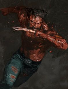Wolverine by Pyeongjun Park #Wolverine
