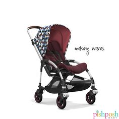 Make the Bugaboo Bee⁵ your own with more color and fabric options than ever before! Choose from 2 frames, 6 seat fabrics, 11 canopies, 3 handlebar finishes, and 2 wheel colors! Priced from $739.00.  http://www.pishposhbaby.com/bugaboo-bee5.html