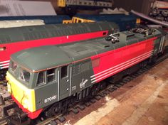 87 016 (un named?) in Virgin livery by Lima  Acquired 13/02/16 from evilBay