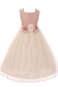 79054d3c9 Chantilly Place Little Girls 2T-6X Brocade Ballerina Dress