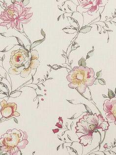 DecoratorsBest - Detail1 - CC F0424/03 - Clarisse - Raspberry - Fabrics - - DecoratorsBest