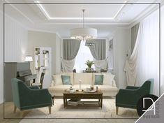 Дизайн-интерьера в классическом стиле. Дизайн гостиной