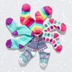 Girls' fashion | Kids' clothes | Printed cozy socks | Stocking stuffer | Holiday gifts | Gift guide | The Children's Place