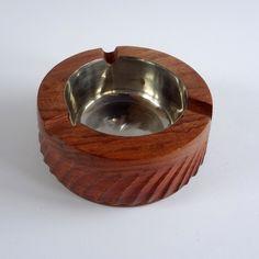 Asbak uit palissander hout | Houten artikelen | SEWISO