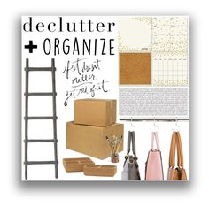 """""""Declutter + Organize"""" by kyliejohansson ❤ liked on Polyvore featuring interior, interiors, interior design, home, home decor, interior decorating, Wall Pops!, Therapy, Jayson Home and organize"""