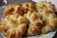 Türkische Pogca Rezept, bleibt eine Woche frisch- Peynirli serit pogca   Aynur's Welt – Aynurun dünyasi