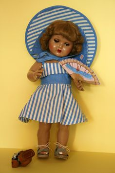 Present Day, Antique Dolls, Squirrel, Summer Dresses, Outfits, Vintage, Fashion, Handmade Dolls, Beautiful Dolls