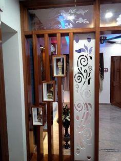 R - Salvabrani Glass Partition Designs, Living Room Partition Design, Living Room Divider, Pooja Room Door Design, Living Room Tv Unit Designs, Interior Design Living Room, Ceiling Design, Wall Design, House Design