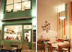 Felicidad cafe in Buenos Aires