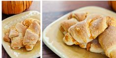 Pumpkin & Cream Cheese Crescent Rolls