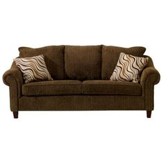 Nice My New Brown Corduroy Couch.