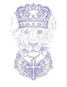 Lion Tattoo Design, Tattoo Design Drawings, Tattoo Sketches, Tattoo Designs, Make Tattoo, 1 Tattoo, Scripture Tattoos, Animal Stencil, Chest Piece Tattoos