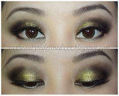 MAC Old Gold Makeup Look