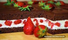 Toto bude první koláček, který upeču z domácích jahod!!!