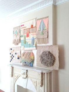 糸の異なるニュアンスを楽しんで。複数のタペストリーを飾ると、まるでギャラリースペースのようにゴージャスです!