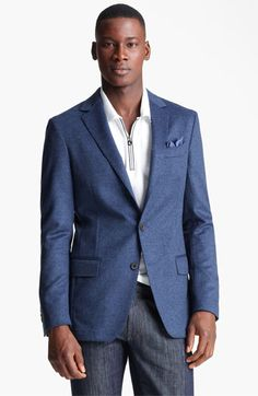 Salvatore Ferragamo 'Giacca Monopetto' Wool & Cashmere Sportcoat available at #Nordstrom