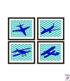 SellPin.com: Pins for Sale by Owner: Airplanes and vintage airplane Boy room art boys by babiesartroom, $58.00 $58.00