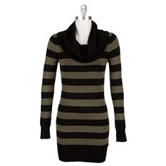 French Connection Women's Contemporary Bambi Cowl Neck Sweater Dress #VonMaur