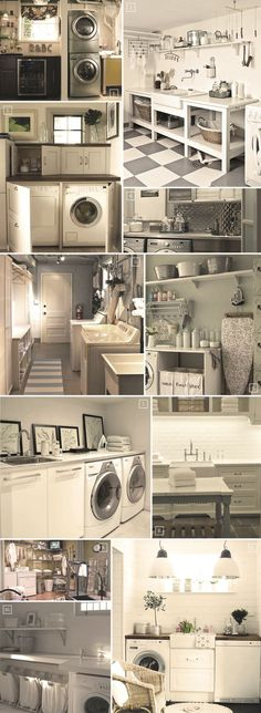 Space Saving Ideas: If your basement space is limited then have your laundry room designed so you can stack the washing machine and dryer on top of each other to save space as seen in picture (1). You might need a stool to reach the top buttons and reach into the top machine. A Sink: […]