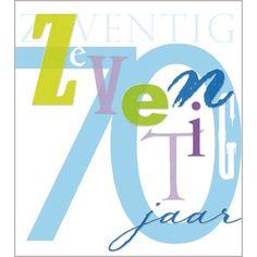uitnodiging verjaardagsfeest 70 jaar