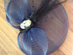 Fascinators Black Navy Cream Red Skull Cameo Owl Ladybird, Used Womens Hats For Sale in Portarlington, Laois, Ireland for euros on Adverts. Black Fascinator, Hats For Sale, Black And Navy, Hats For Women, My Design, Owl, Skull, Cream, Projects