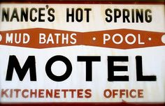 Vintage Calistoga Signs by PSi by septillion, via Flickr