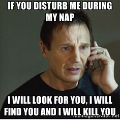 When people disturb my sleeping NAS babies