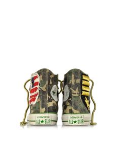 Converse Limited Edition All Star Hi Canvas LTD Camo Graduate Flag Sneaker