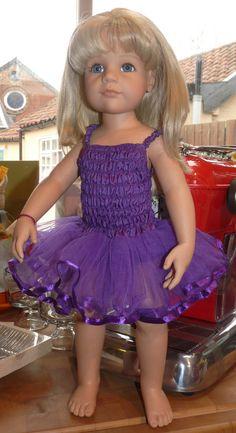 Fairy Doll Dress in Dark Lilac suitable for Gotz Hannah Play Doll NEW