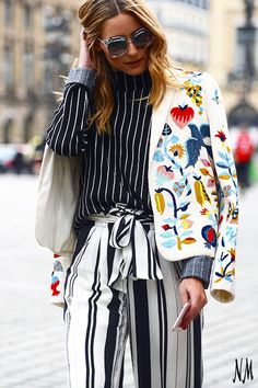 On The Blog: Catch up on the hottest street style moments from Haute Couture Fashion Week. Photo credit: The Street Muse.