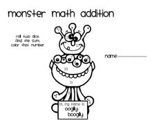 Tales From a K-1 Classroom: Daily 5 Math- Paper and Pencil Activities****FREEBIES**** (as always)