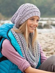 cdca2ba2d1f Free My Mountain Pattern Hat and Scarf Yukon  Casual
