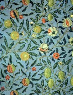 1864 William Morris (English 1834-96) ~ Pomegranate