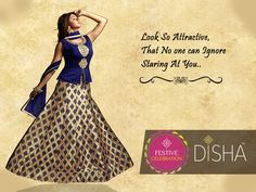 Look so attractive, No one can Ignore Staring at you.. #Disha, #Trends, #Traditionalwear, #Partywear