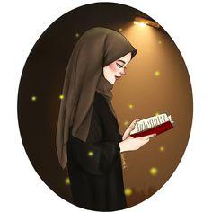 Girly Drawings, Art Drawings For Kids, Cartoon Drawings, Muslim Pictures, Islamic Pictures, Girl Cartoon, Cartoon Art, Anime Wallpaper Live, Sky Anime