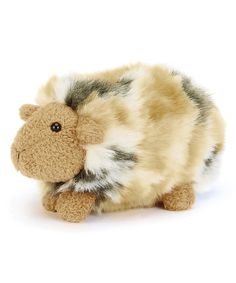 Loving this 5.5'' Silky Gorgeous Guinea Pig Plush Toy on #zulily! #zulilyfinds