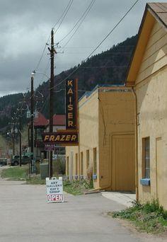 Old Kaiser Frazer Dealership in Palmer Lake Colorado. Palmer Lake Colorado, Mountain High, Rocky Mountains, Places Ive Been, Cars, Autos, Car, Automobile