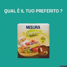 Qual è il formato di Misura Stevia che preferite?