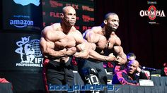 Levrone vs. McMillan - 2016 IFBB Mr. Olympia Press Conference