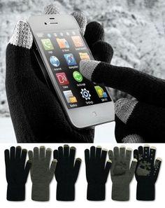 Kapacitív kesztyű, iGloves, érintő képernyős okostelefon készülékekhez specializált különleges funkcióval, uniszex férfi méretben. A tapikesztyű...