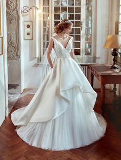 Vestidos de novia con falda voluminosa 2017: Luce como un auténtica princesa Image: 30