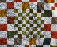 Dan Rouse Checkers Quilt
