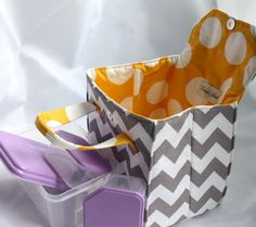Custom Insulated Lunch Bag / Lunch Tote / Bento by binskistudio