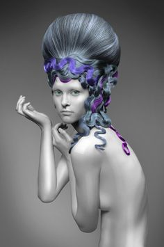 www.esteticamagazine.de |  Haare: GONZALO ZARAUZA for Beta Hairdressing School Make-Up: MÓNICA LUIS Coordinator: ZIORTZA ZARAUZA Fotos: JAVIER VILLALABEITIA // CHUS TERÁN