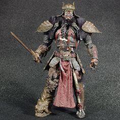 "Spawn Dark Ages Series 19 The Samurai Wars SAMURAI SPAWN 7"" Figure McFarlane #McFarlaneToys"