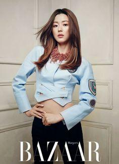 Jeon Ji Hyun - Harper's Bazaar Magazine April Issue 2014