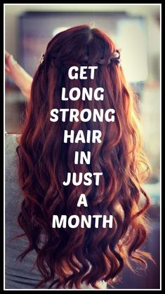 Tip to get long strong hair in 1 month - long hair - Accesorios para Cabello Easy Updos For Long Hair, Long Thin Hair, Long Brown Hair, Thick Hair, Hair Growing Tips, Grow Hair, Face Shape Hairstyles, Straight Hairstyles, 1930s Hairstyles